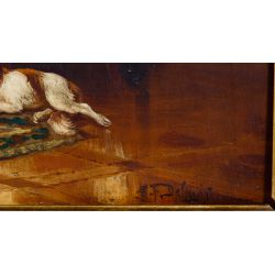 View 5: Unknown Artist (European, 19th Century) Oil on Board