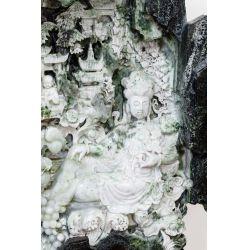 View 3: Chinese Carved Jadeite Jade Intricate Sculpture