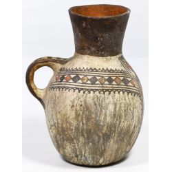 View 3: South American Huari Pottery Pitcher