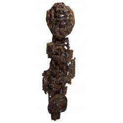 View 5: Asian Wood Carved Sceptre