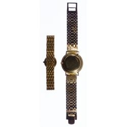 View 2: Longines 14k Gold Case and Band Wrist Watch