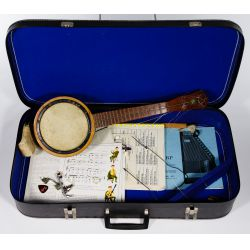 View 6: String Instrument and Accessory Assortment