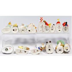 View 2: Royal Doulton and Royal Crown Derby Bunny Assortment