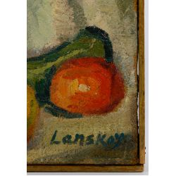 View 5: Andre Lanskoy (French / Russian, 1902-1976) Oil on Burlap