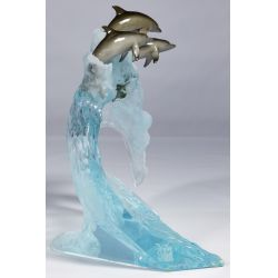 View 4: Robert Wyland (American, B.1956) Lucite Sculpture