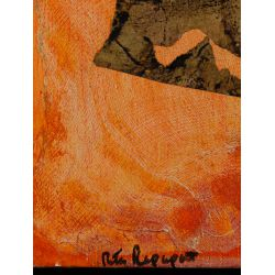 View 4: Rita Rapaport (American, 1918-2003) Mixed Media on Canvas
