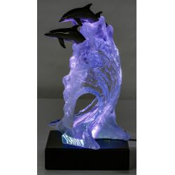 View 9: Robert Wyland (American, B.1956) Lucite Sculpture