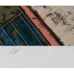View 10: Lu Hong (Chinese, b.1952) Serigraphs