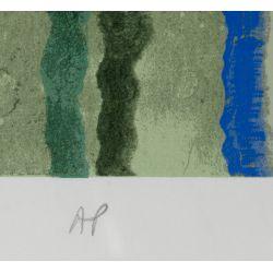 View 7: Lu Hong (Chinese, b.1952) Serigraphs