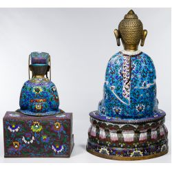 View 2: Chinese Cloisonne Figures