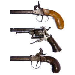 View 2: Black Powder Pistol Assortment