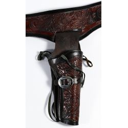 View 2: Leather Belt and Holster Assortment