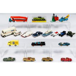 View 2: Corgi and Dinkey Toy Car and Truck Assortment