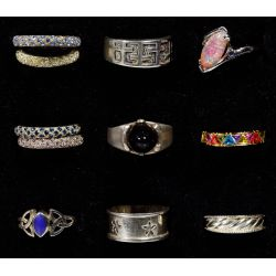 View 5: Sterling Silver Ring Assortment