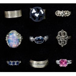 View 3: Sterling Silver Ring Assortment