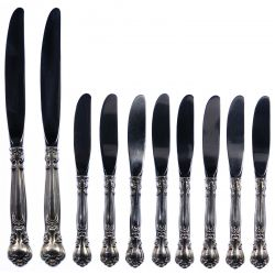 """View 7: Gorham """"English Gadroon"""" and """"Chantilly"""" Flatware Assortment"""