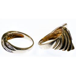 View 2: 14k Gold Rings