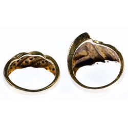 View 3: 14k Gold Rings