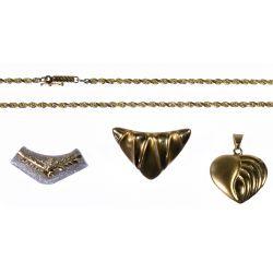 View 2: 14k Gold Jewelry Assortment