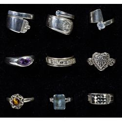 View 4: Sterling Silver Ring Assortment
