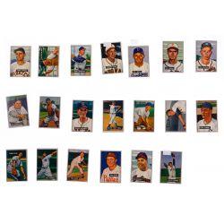 View 7: 1951 Bowman Baseball Trading Card Assortment