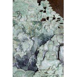 View 3: Chinese Carved Jadeite Jade Sculpture