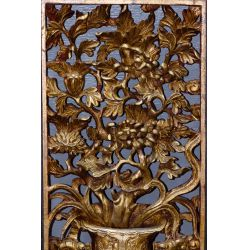 View 2: Asian Carved Wood Screens