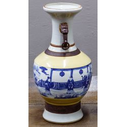 View 2: Asian Earthenware Vase