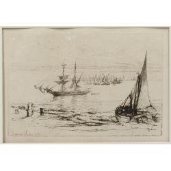 View 2: Seymour Haden (English, 1818-1910) Etching Assortment