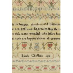 View 3: 1818 Schoolgirl Sampler