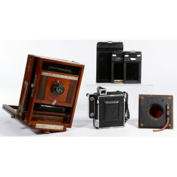 View 6: Large Format Camera Assortment