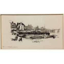 View 6: Seymour Haden (English, 1818-1910) Etching Assortment