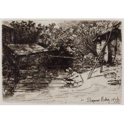 View 4: Seymour Haden (English, 1818-1910) Etching Assortment