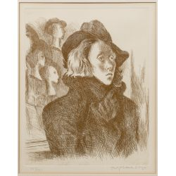 View 4: Raphael Soyer (Russian / American, 1899-1987) Etchings