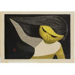 View 2: Kaoru Kawano (Japanese, 1916-1965) Woodblock Prints