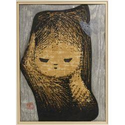 View 4: Kaoru Kawano (Japanese, 1916-1965) Woodblock Prints