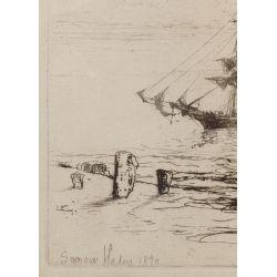 View 3: Seymour Haden (English, 1818-1910) Etching Assortment