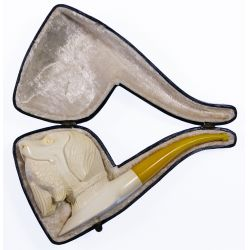 View 3: Meerschaum Carved Pipes