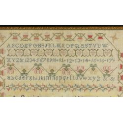 View 2: 1818 Schoolgirl Sampler