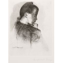 View 2: Raphael Soyer (Russian / American, 1899-1987) Etchings