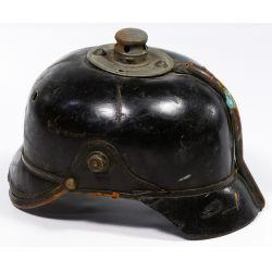 View 4: World War I German Prussian Pickelhaube Spiked Helmets