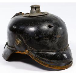 View 2: World War I German Prussian Pickelhaube Spiked Helmets