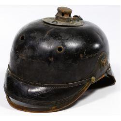 View 5: World War I German Prussian Pickelhaube Spiked Helmets