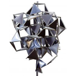 View 3: Buckminster Fuller (American 1895-1983) Sculpture