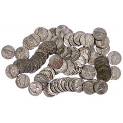 View 3: Jefferson Silver War 5c Assortment