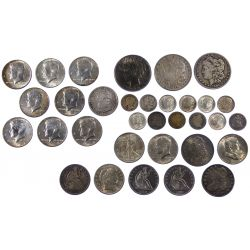 View 3: US Coin Assortment
