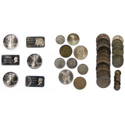 View 2: US Silver Coin Assortment