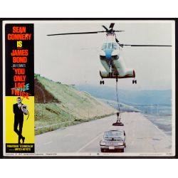 """View 3: 1967 James Bond Movie """"You Only Live Twice"""" Lobby Card Assortment"""