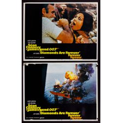 View 2: James Bond US Movie Lobby Card Assortment
