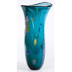 View 2: Dutch Schulze for Bandon Glass Art Glass Vase